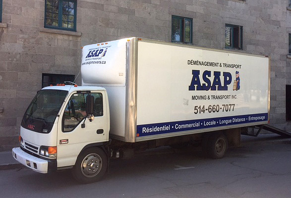 ASAP moving truck