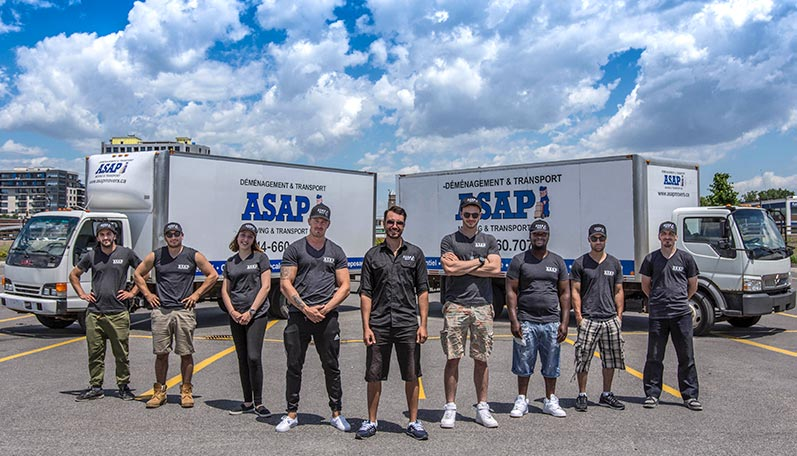 ASAP staff members standing together