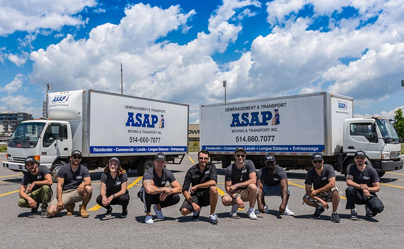 ASAP's friendly long distance movers